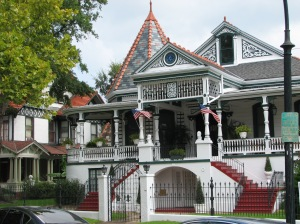 Cresson House (built around 1902). Several houses along Esplanade Avenue are unique.