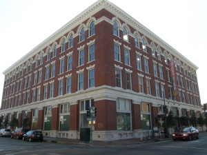 This warehouse was renovated in 1999 and now houses the Contemporary Arts Center on St. Joseph and Camp.