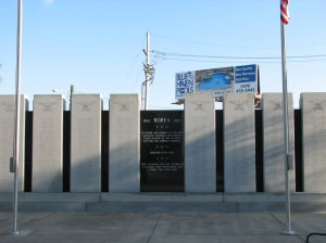 Korean War memorial for Louisiana soldiers.